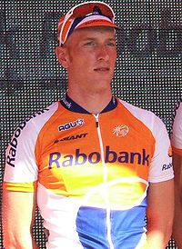 Jos van Emden podczas Tour Down Under 2009