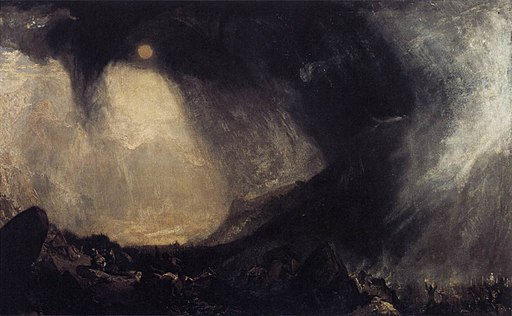 Joseph Mallord William Turner - Snow Storm, Hannibal and his Army Crossing the Alps - WGA23167