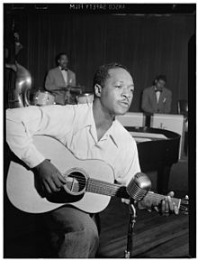 Josh White, Café Society (Downtown), New York, N.Y., ca. June 1946 (William P. Gottlieb 09091).jpg