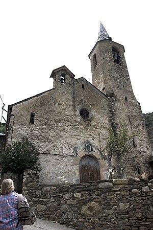 La Guingueta d'Àneu - St. Peter's church, in Jou