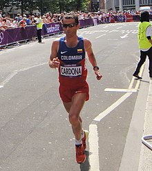 Juan Carlos Cardona (Colombia) - London 2012 Mens Marathon.jpg