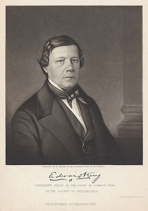 Edward King (jurist) - Image: Judge Edward King