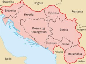 jugoslavia kart Jugoslavia   Wikipedia jugoslavia kart