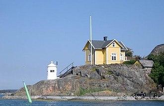 Trosa Municipality - The Christmas Lighthouse in Trosa Archipelago