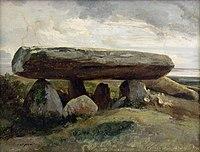 Jules Coignet 1836 Dolmen à Locmariaquer.jpg