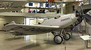 Junkers A50 - A50ci D-2054 in Deutsches Museum Munich