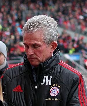 Jupp Heynckes - Heynckes with Bayern Munich in 2012