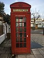 K2 Telephone Kiosk outside White Horse public house 1385733 (2).jpg