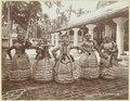 KITLV - 3654 - Lambert & Co., G.R. - Singapore - Klingalese puppetry at the Nattukottai Chettiar Temple, Waterfall Road in Penang - circa 1890.tif