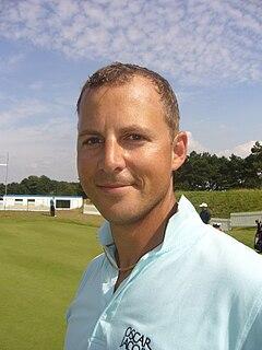 Niclas Fasth professional golfer