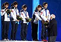 KOCIS Korea ShortTrack Ladies 3000m Gold Sochi 49 (12629814144).jpg