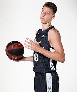 Arnoldas Kulboka Lithuanian basketball player (1998-)
