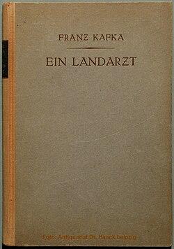 Kafka Ein Landarzt 1919.jpg