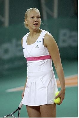 Winnares in het enkelspel, Kaia Kanepi