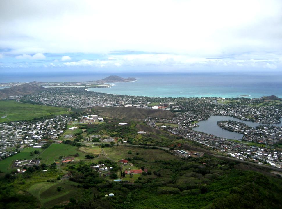 Kailua from Olomana