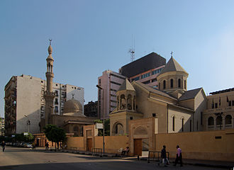 Annunciation Cathedral, Cairo - Another View