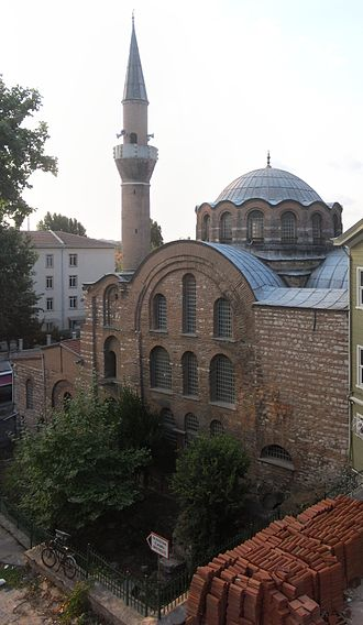Kalenderhane Mosque - The Mosque viewed from the southeast in 2012