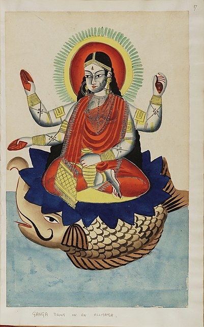 चित्र:Kalighat pictures Indian gods f.17.jpg