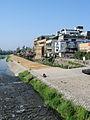 Kamo River, Sanjo Ohashi, Kyoto, Japan (3640296163).jpg