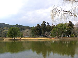 Historic Monuments and Sites of Hiraizumi - Image: Kanjizaiō in
