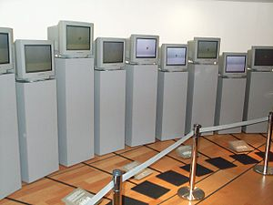 Karl Sims - Galápagos installation