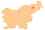 The location of the Municipality of Duplek