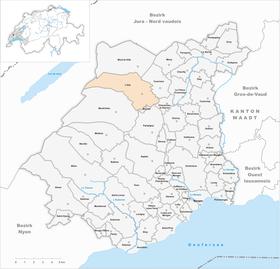 Map of L'Isle