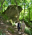 Kathy & Guide at Niagara Glen & Trails (22191983921).jpg