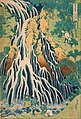 Katsushika Hokusai, Japanese - Pilgrims at Kirifuri Waterfall on Mount Kurokami in Shimotsuke Province - Google Art Project.jpg