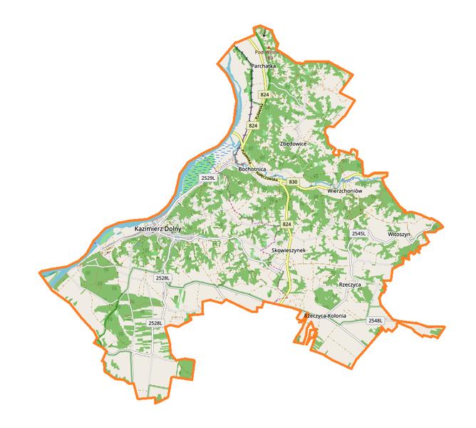 File:Kazimierz Dolny (gmina) location map.png