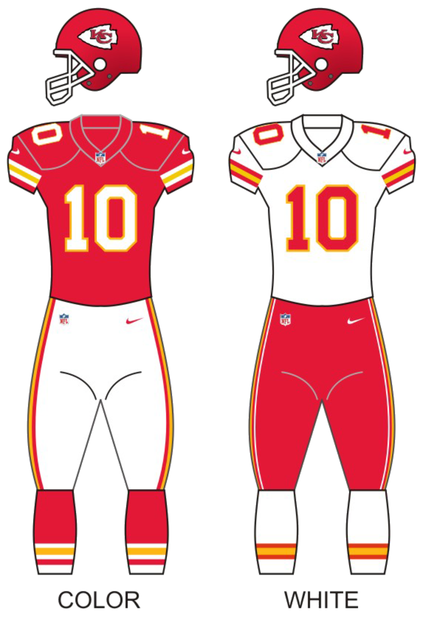 Kc chiefs uniforms