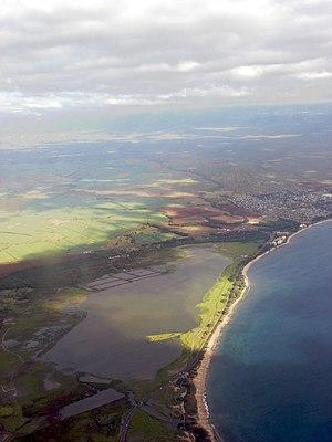 Kealia Pond National Wildlife Refuge - Aerial view