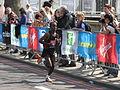 Kebede, London Marathon 2011.jpg