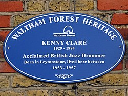 Kenny clare (waltham forest heritage)