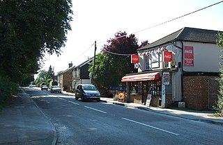Kensworth farm village in the United Kingdom