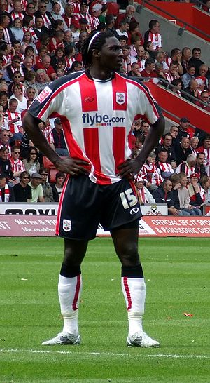 Kenwyne Jones - Jones playing for Southampton