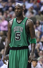 Kevin Garnett at a game