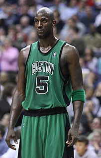 Kevin Garnett American retired professional basketball player