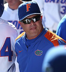Florida Head Coach Kevin O'Sullivan