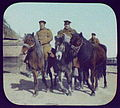 Khabarovsk - three Cossack soldiers and ponies LCCN2004708069.jpg