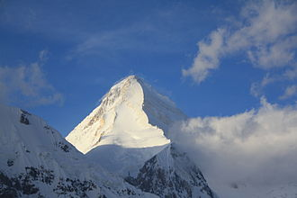Tengri - The Khan Tengri pyramidal peak