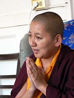 Khandro Rinpoche Buddhist lama
