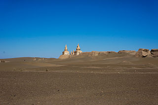 ruins of a medieval city in western Inner Mongolia