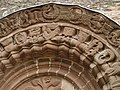 Kilpeck church stone carvings - geograph.org.uk - 875697.jpg
