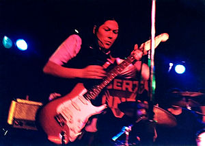 The Amps - Kim Deal performing with the Amps in Dayton, Ohio in 1995