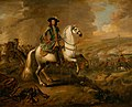 King William III at the battle of the Boyne, 1690.jpg