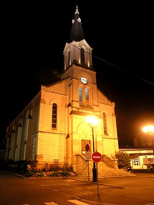 Joué-lès-Tours - The church in Joué-lès-Tours