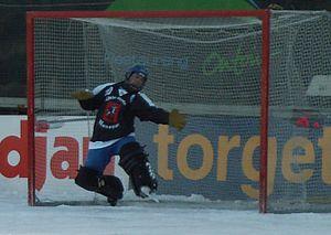 Dynamo Moscow Bandy Club - The goalkeeper Kirill Khvalko