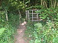 Kissing Gate on the Gloucestershire Way - geograph.org.uk - 523979.jpg
