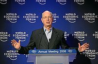 Davos, Suisse, Klaus Schwab, Créateur and ...